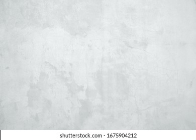 White concrete wall texture abstract background