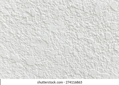 White concrete wall texture and background seamless.