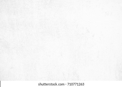 White Concrete Wall Texture Background Suitable for Presentation and Web Templates with Space for Text.