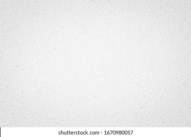 White concreted wall for interiors or outdoor exposed surface polished concrete. Cement have sand and stone of tone vintage, natural patterns old antique, design art work floor texture background.