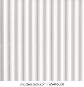 White corrugated cardboard
