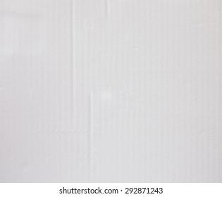 white corrugated paper