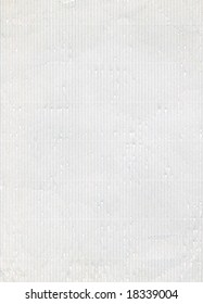 White corrugated paper high resolution scan