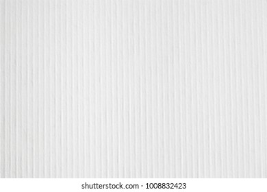 White corrugated paperboard texture background. Art Paper Textured Background.