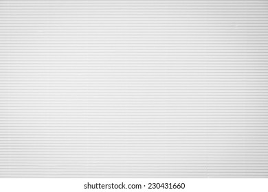 White corrugated paperboard texture background