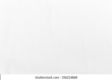 White cotton texture background.
