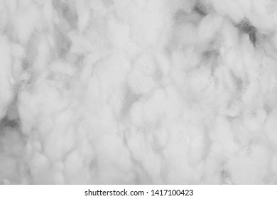 White cotton wadding texture background