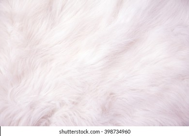 White cotton wool background texture.