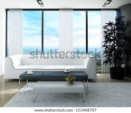 Cool White Couch Nice Side Tables Against Stock Photo Edit Now Pdpeps Interior Chair Design Pdpepsorg