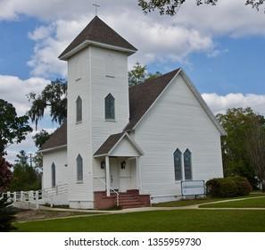A White Country  Church