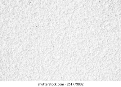 White Course Texture Paint On A Wall