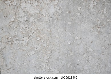 White crack painted wall