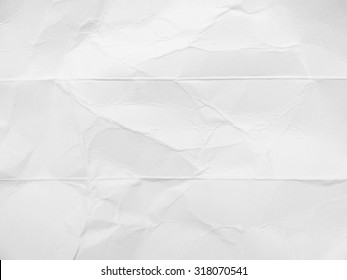 white crumpled cardboard paper texture