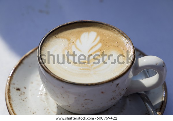 White Cup Of Latte