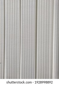 white curtain background with line texture