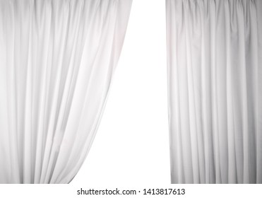 1000+ White Curtain Background Stock Images, Photos \ Vectors
