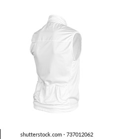White Cycling Vest, ghoust model,