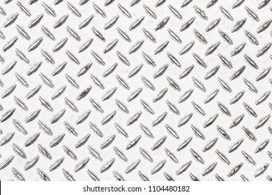 White diamond plate background seamless