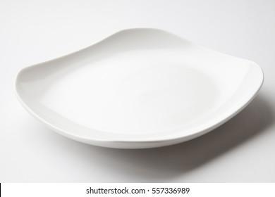 white dish