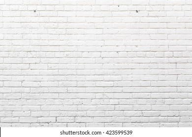 White Exterior Brick Wall