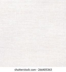 White fabric texture or background, White Canvas, Abstract background.