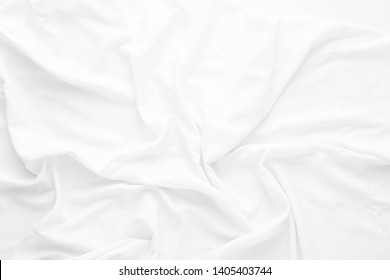 white fabric texture background ,white cloth background