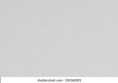 white fabric texture. coarse canvas background - closeup pattern