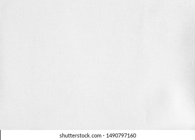 White fabric texture wallpaper background