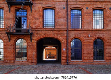 The White Factory, presently the seat of the Central Museum of Textiles, Lodz, Poland