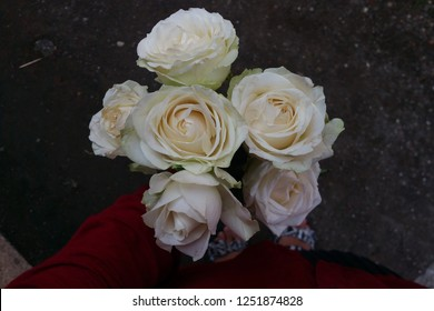 White flowers bouquet