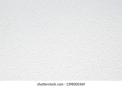 White foam abtract background texture, top view