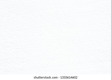 White foam board texture for background with empty space.
