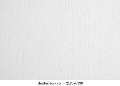 White foam board texture, background