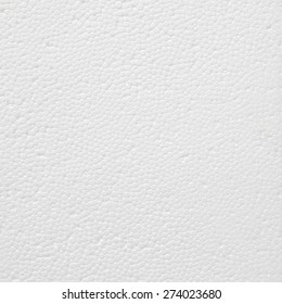 White Foam Plastic Texture background