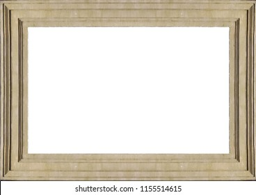 White frame background with decorated molding design borders.