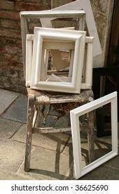 white frames from Venice