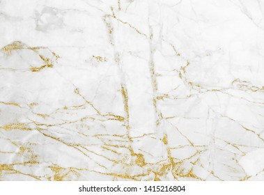 White gold marble texture pattern background with high resolution design for cover book or brochure, poster, wallpaper background or realistic business