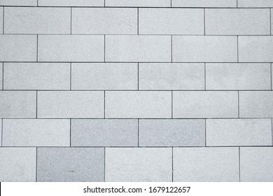 White gray brick wall texture