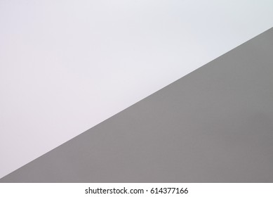 White and Gray two tone background.