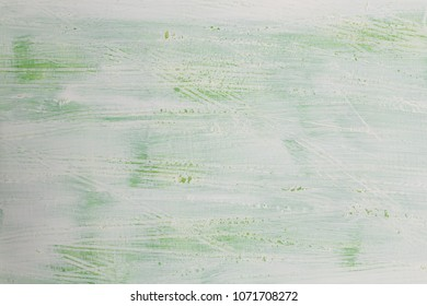 White Green wooden board as background texture.