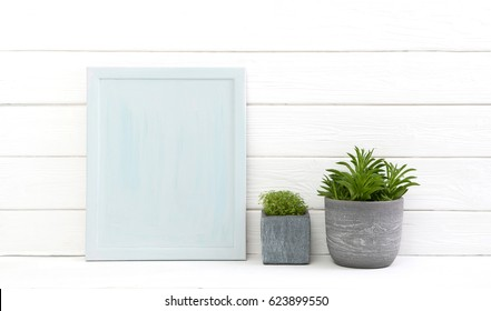 White grey old wooden background for advertising and commercial promotion with a flower pot for decoration items or concepts.