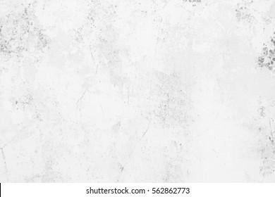 White Grunge Cement Wall Background.