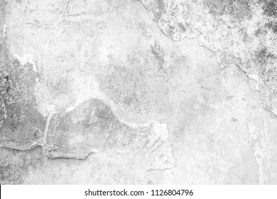 White Grunge Concrete Wall Texture Background, Suitable for Presentation and Web Templates.