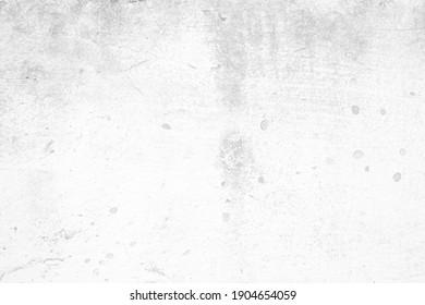 White Grunge Concrete Wall Texture Background.