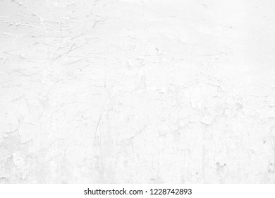 White Grunge Wall Texture Background.