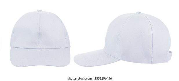 White hat isolated on white background