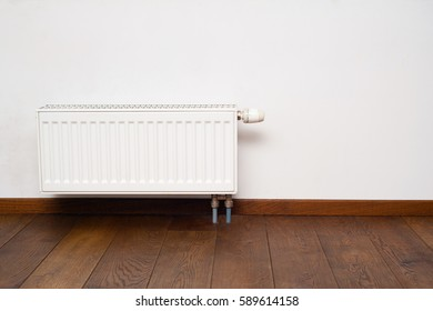 White heater at home