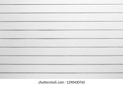 white horizontal slats pattern background