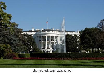 White House 1600 Pennsylvania Ave , Washington DC.