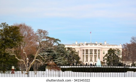 White House in Christmas time (Washington DC, USA)